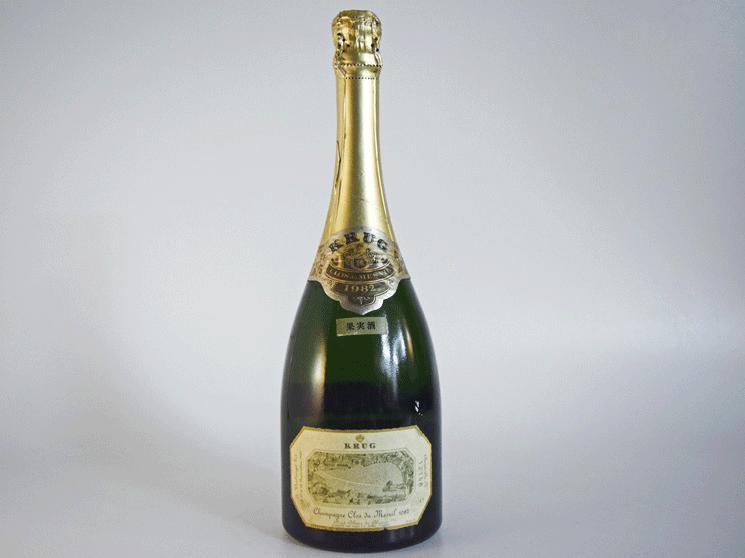 クリュッグ クロ デュ メニル 1982