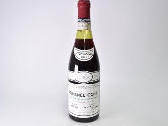 DRC ドメーヌ ド ラ ロマネ コンティ 1981年
