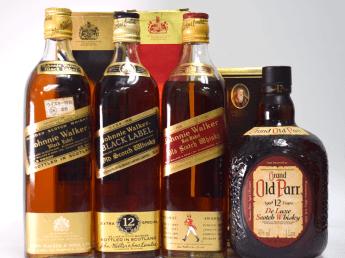 ウイスキーのお買取価格を公開