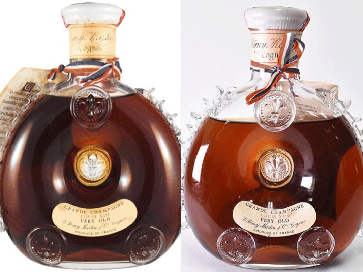 レミーマルタン ルイ13世 ベリーオールド 液面低下比較